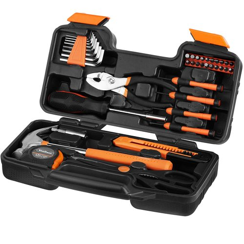 VonHaus Orange Homeowner Tool Set