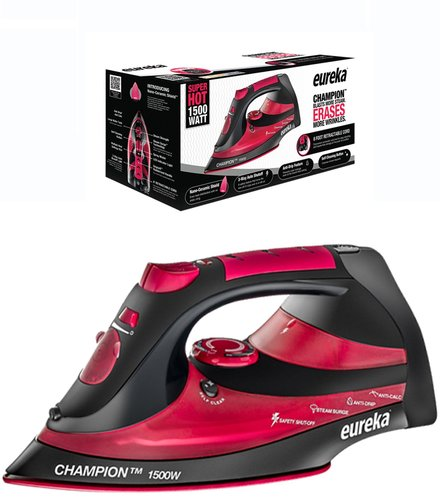 Eureka Champion Super Hot 1500 Watt Iron