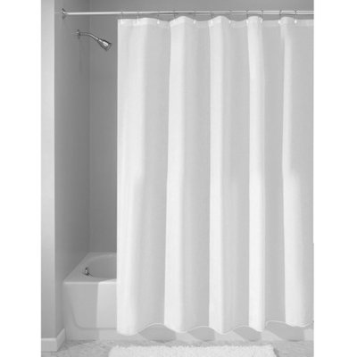 InterDesign Shower Curtain in White