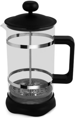 French Press Chrome & Black (Black)