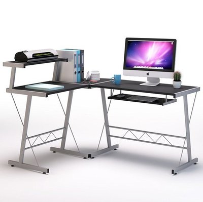 BHG L-Shape Computer Desk
