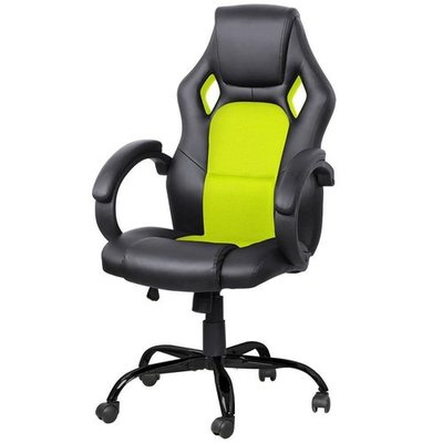 Yaheetech Adjustable High Back Gaming Racing Car Style Swivel Tilt Chair