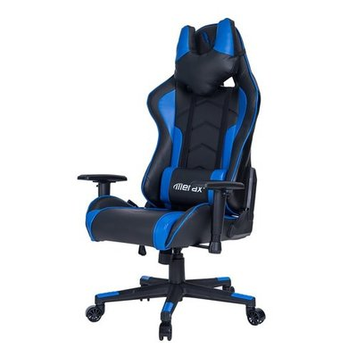Merax U-Neeck Series Ergonomic High Back Racing Style PU Leather Gaming Chair (Black)