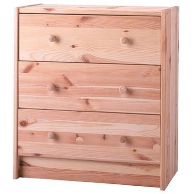 Ikea 3-Drawer Chest