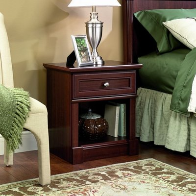 Sauder Palladia Nightstands with Select Cherry Finish