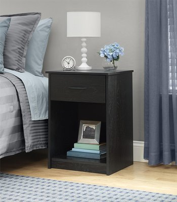 Ameriwood Home Core Nightstands – Black