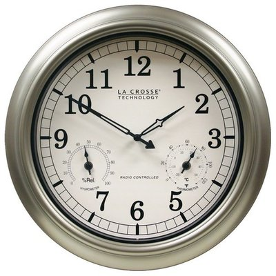 La Crosse Technology Atomic Outdoor Clock
