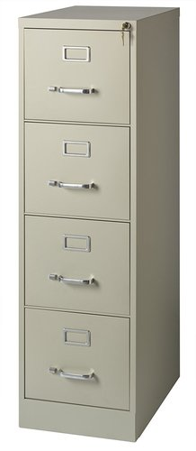 Office Dimensions Commercial 4 Drawer Cabinet