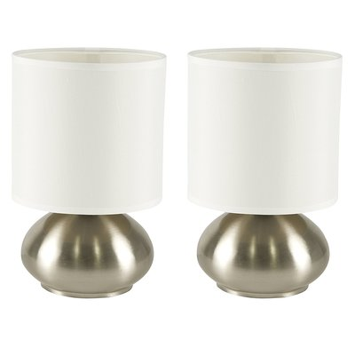Light Accents Touch Table Lamps, Set of 2
