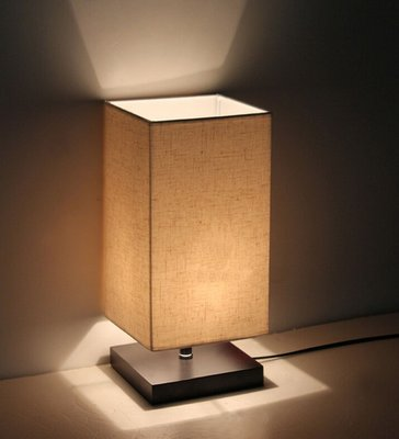 Surpars House Minimalist Solid Wood Table Lamp
