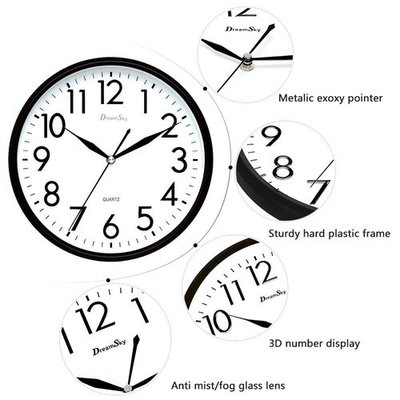Top 10 Best Wall Clocks Reviews In 2020 Bright8 Reviews