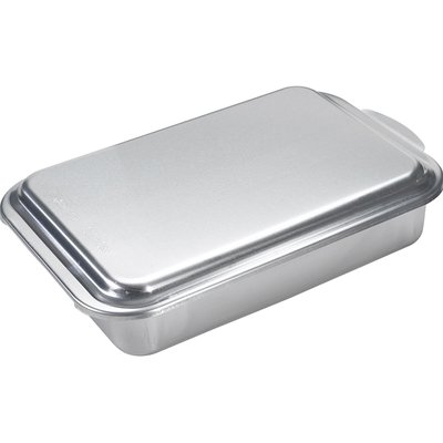 "Nordic Ware 13"" Classic Metal Covered Rectangle Cake Pan"