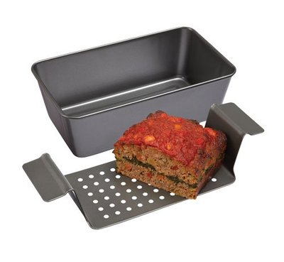 Chicago Metallic 2-Piece Healthy Meatloaf Set