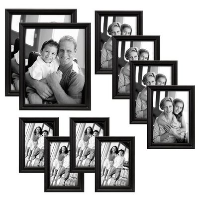 MCS 10pc Multi Pack Picture Frame Value Set
