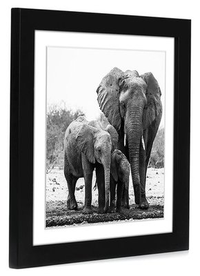 Americanflat 11x11 Black Picture Frame