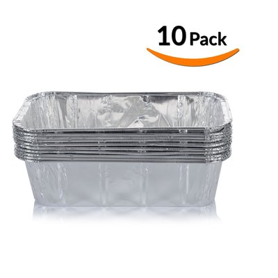 Dobi Aluminum Foil Loaf Pans, Set of 10