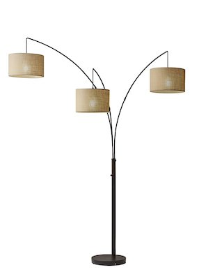 Adesso 4238-26 Trinity Arc Floor Lamp Antique Bronze FinisH