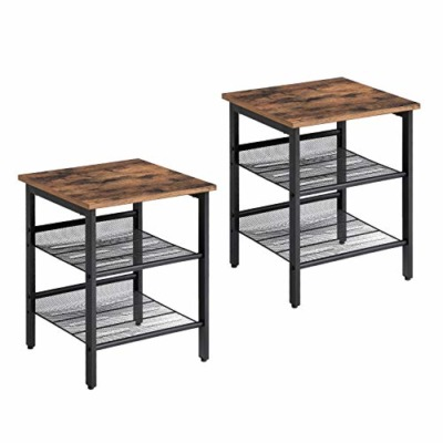 VASAGLE Industrial Best Nightstands
