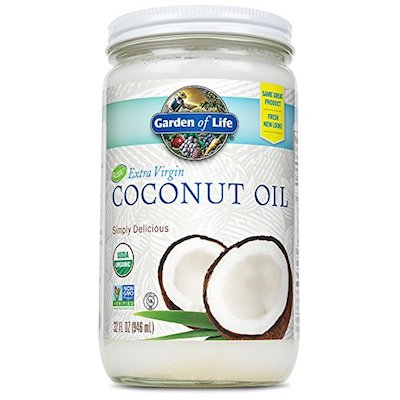 Garden of Life Organic Unrefined Extra Virgin Coconut