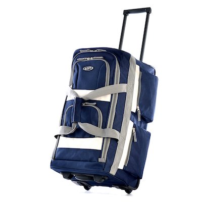 Olympia Luggage Rolling Duffel Bag