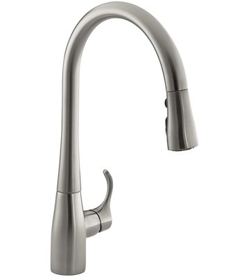 KOHLER K-596-VS Simplice Single-hole
