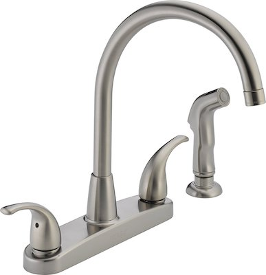 Peerless P299578LF-SS Choice Two Handle Kitchen Faucet