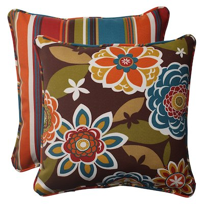 Pillow Perfect Indoor/Outdoor Annie Westport Throw Pillow