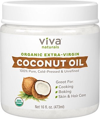 Best Certified Organic Coconut Oil: Viva Naturals Organic Extra Virgin Coconut Oil