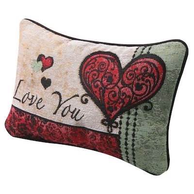 I Love You I Love You More Pillow