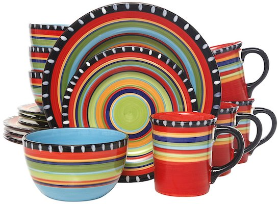 Gibson Elite Pueblo Springs Dinnerware set