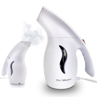 One of the Best Handheld Clothes Steamers: PurSteam Elite Travel Fabric Steamer