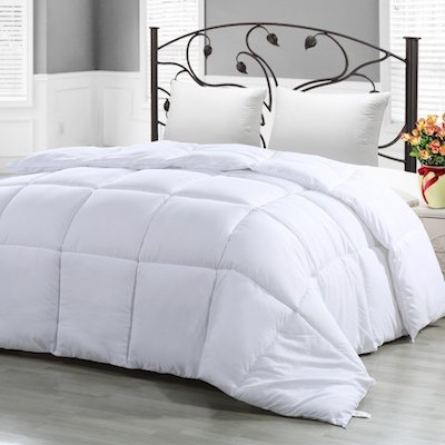 Utopia Bedding Queen Comforter Duvet Insert White