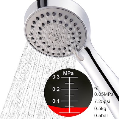YOO.MEE High Pressure Handheld Shower