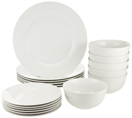AmazonBasics Dinnerware Set