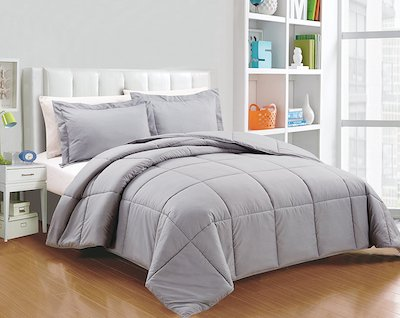 Chezmoi Collection Down Alternative Comforter Set
