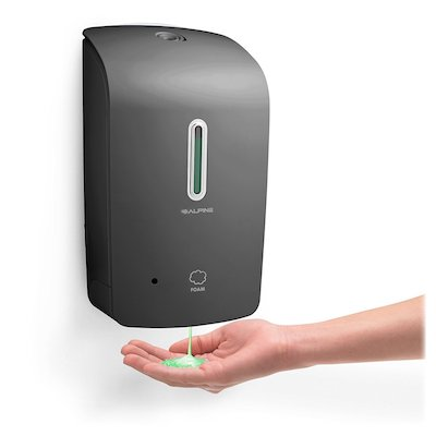 Alpine Wall Mountable, Touchless, Universal Foam Soap