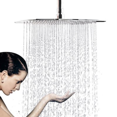 12 Inch Large Square Rain Showerhead