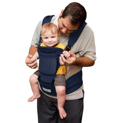 BabyStep 6-IN-1 Ergonomic Baby Hip Seat Carrier