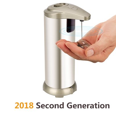 HENGQIANG Soap Dispenser, Automatic Hands Free