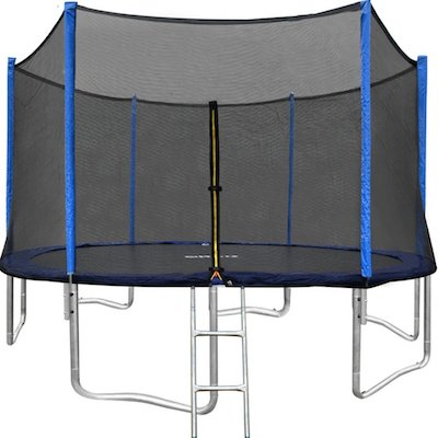 ORCC 15FT 12FT Trampoline with Enclosure Net