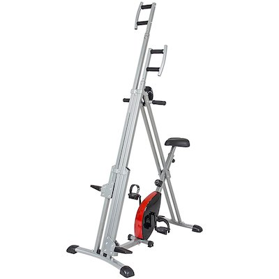 Vertical Climber 2 in 1 Magnetic Exercise Bike