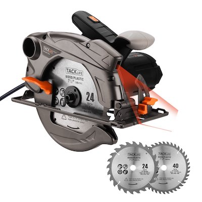 Tacklife Circular Saw with PES01A