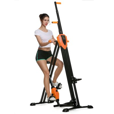ANCHEER Vertical Climber 2 in 1 Climbing Machine