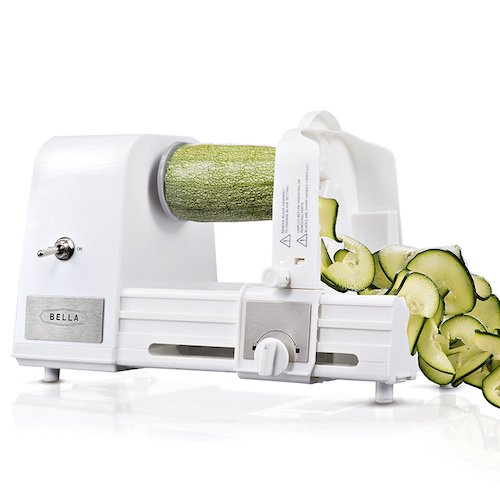 BELLA Hands-Free 4-in-1 Electric Kitchen Spiralizer