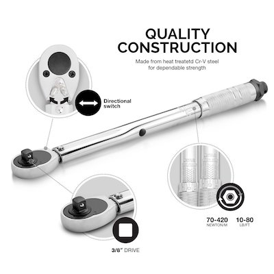 Neiko 03713A Drive Click Torque Wrench