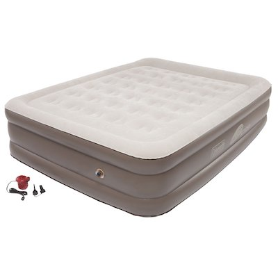 Coleman Support Rest Plus Pillow Stop Double High Airbed