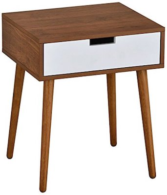 Side End Table Nightstand