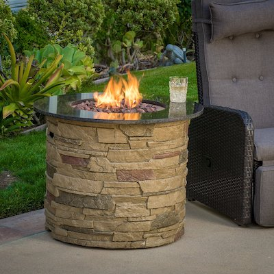 Great Deal Furniture Roger Outdoor Round