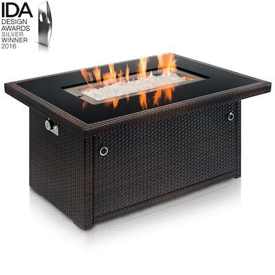 Outland Fire Table Aluminum Frame Propane Fire Pit Table