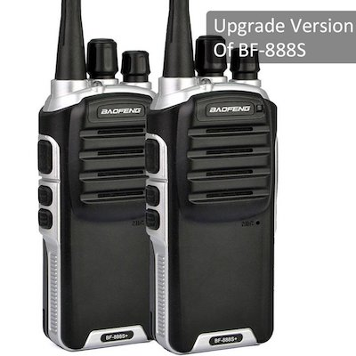 Baofeng BF-888S Plus UHF Walkie Talkies Two-Way Radio For Hiking Camping Trolling